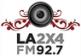 La 2×4 FM 92.7 FM